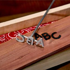 Buns BBQ Steak Brand For Grills Texas Branding Iron For Steak Wood /& Leather OnlyGifts.com Grilling Gift For Guys and Dad